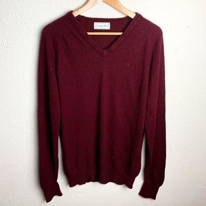 Mens Vintage Christian Dior Homme Sweater Pullover
